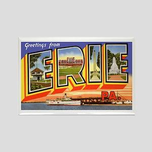 Erie Pennsylvania Greetings Rectangle Magnet