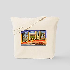 Erie Pennsylvania Greetings Tote Bag