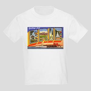 Erie Pennsylvania Greetings (Front) Kids T-Shirt