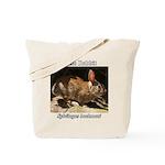 Brush Rabbit Tote Bag