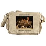 Brush Rabbit Messenger Bag