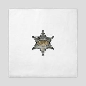 Junior Sheriff Queen Duvet
