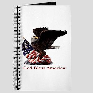 God Bless America Eagle Journal