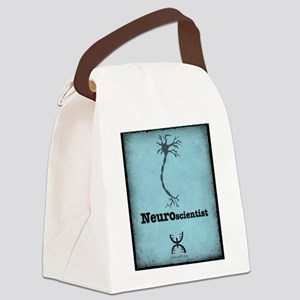 Neuroscientist Canvas Lunch Bag