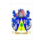 Burmann Sticker (Rectangle 10 pk)