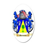 Burmann 35x21 Oval Wall Decal