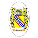 Burman Sticker (Oval)