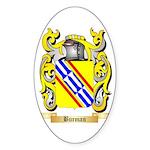 Burman Sticker (Oval 50 pk)