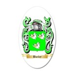 Burley 20x12 Oval Wall Decal