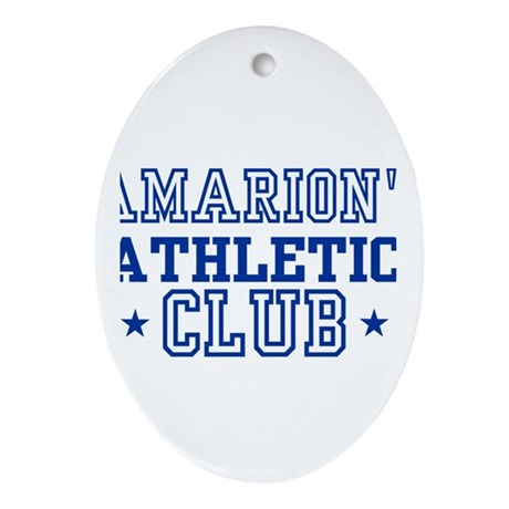 Amarion Oval Ornament