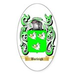Burleigh Sticker (Oval 50 pk)