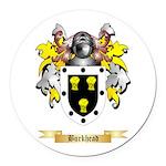 Burkhead Round Car Magnet