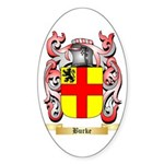 Burke Sticker (Oval)