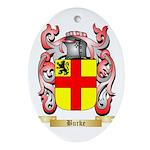 Burke Ornament (Oval)