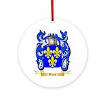 Burk Ornament (Round)