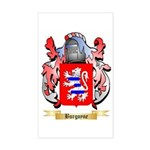 Burgoyne Sticker (Rectangle)
