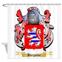 Burgoyne Shower Curtain
