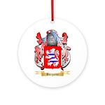 Burgoyne Ornament (Round)