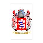 Burgoine Sticker (Rectangle 50 pk)