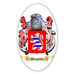 Burgoine Sticker (Oval 50 pk)