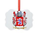 Burgoine Picture Ornament