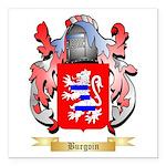 Burgoin Square Car Magnet 3