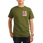 Burgin Organic Men's T-Shirt (dark)