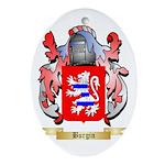 Burgin Ornament (Oval)
