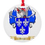 Burgh Round Ornament