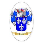 Burgh Sticker (Oval)
