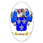 Burgh Sticker (Oval 50 pk)