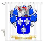 Burgh Shower Curtain