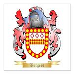 Burgess Square Car Magnet 3