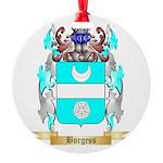 Burgess 2 Round Ornament