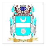 Burgess 2 Square Car Magnet 3