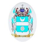Burgess 2 Ornament (Oval)