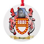 Burges Round Ornament