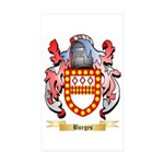 Burges Sticker (Rectangle 10 pk)