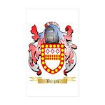 Burges Sticker (Rectangle 50 pk)