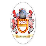 Burges Sticker (Oval 50 pk)