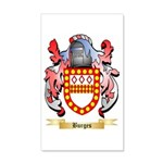 Burges 20x12 Wall Decal