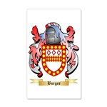 Burges 35x21 Wall Decal