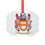 Burges Picture Ornament