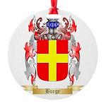 Burge Round Ornament