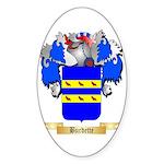 Burdette Sticker (Oval 50 pk)