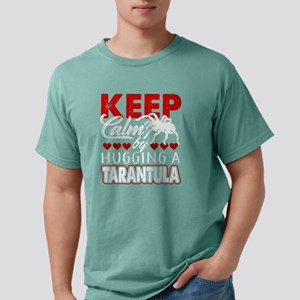 KEEP CALM BY HUGGING A T Mens Comfort Colors Shirt