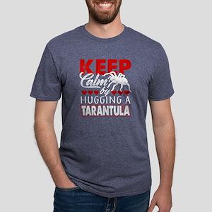 KEEP CALM BY HUGGING A TARA Mens Tri-blend T-Shirt
