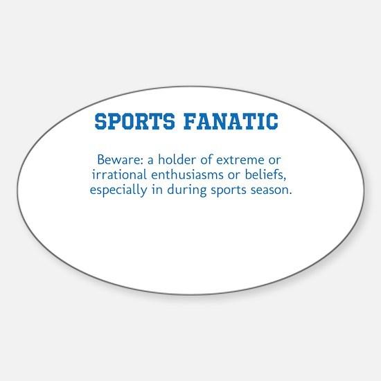 Sports Fanatic Decal