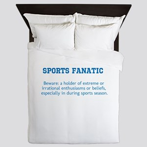 Sports Fanatic Queen Duvet