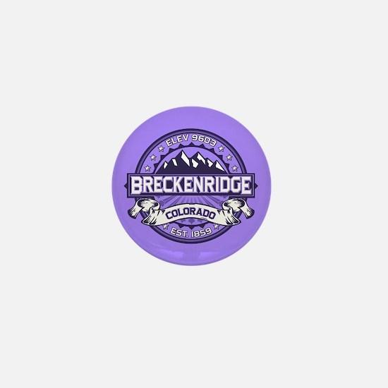 Breckenridge Purple Mini Button